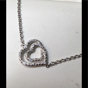 Concentric Hearts Necklace